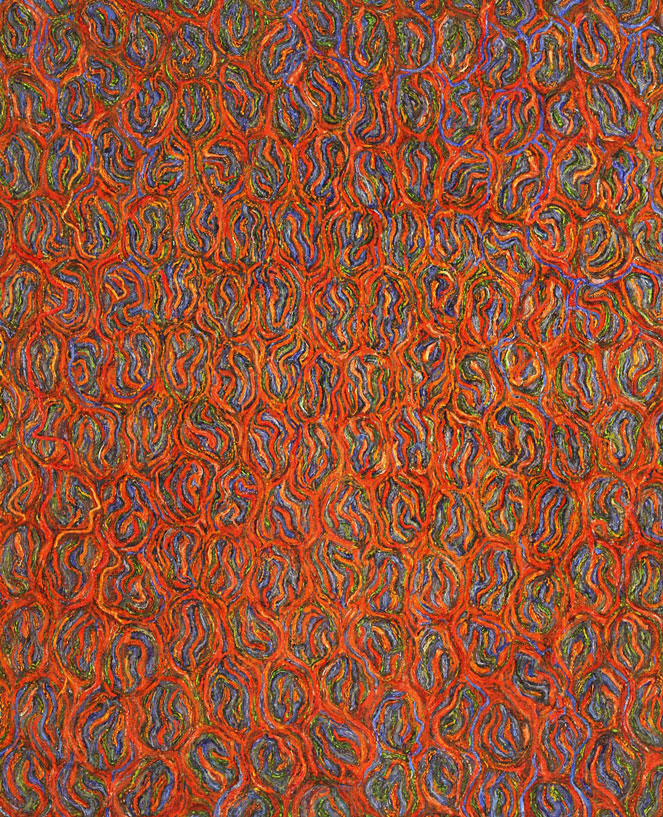 Painting No. 4, 2009, 32 x 26, Oil on Canvas